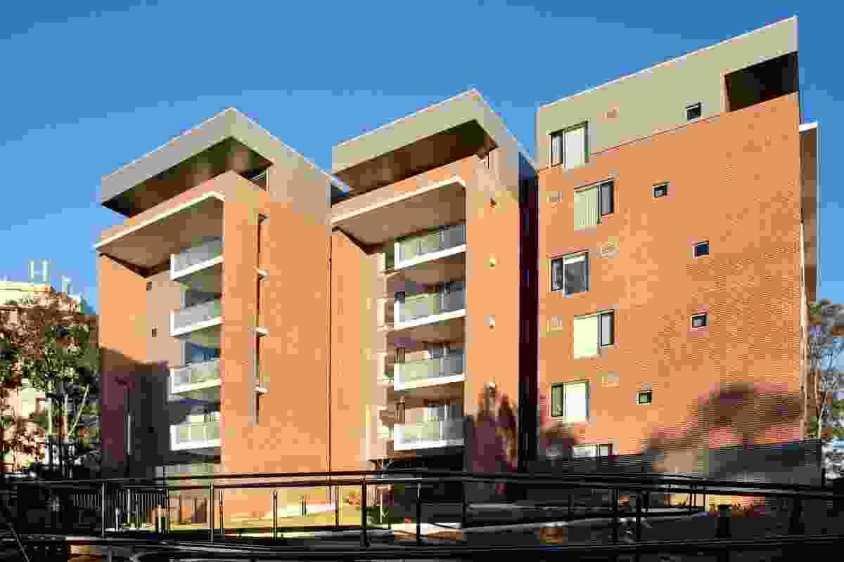 Telopea Social Housing by Turner Studio.