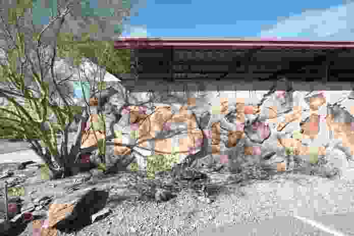 Frank Lloyd Wright's Taliesin West provides a lesson for how to design for a very dry and hot desert landscape.