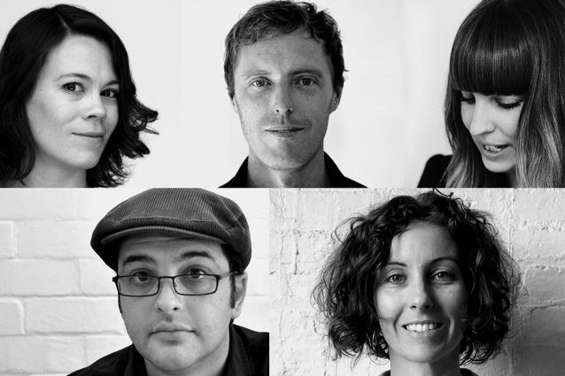 2014 Dulux Study Tour group, clockwise from top left: Suzannah Waldron, Ben Milbourne, Jenna Rowe, Michael Zanardo, Cherry Williamson.