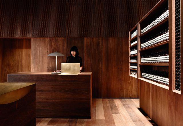 Aesop Emporium by Kerstin Thompson Architects.