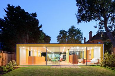 The Wimbeldon House, originally known as 22 Parkside, designed by Richard and Su Rogers Architects in 1968, restored by Philip Gumuchdjian and Todd Longstaffe-Gowan in 2015.