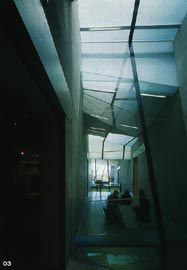 The south intrafilament, seen from the entry to the Level 2 galleries.Image: Trevor Mein.