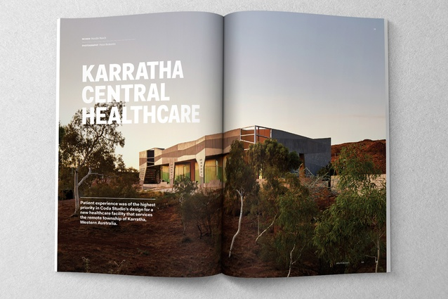 Karratha Central Healthcare designed by Coda Studio.