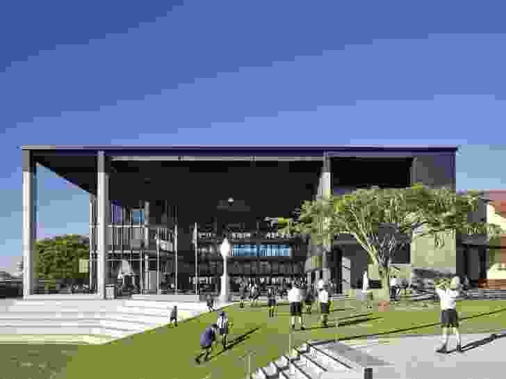 St Joseph's Nudgee College, Hanly Learning Centre – M3 Architecture
