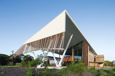 University of Wollongong's Sustainable Buildings Research Centre by Cox Richardson (now Cox Architecture).