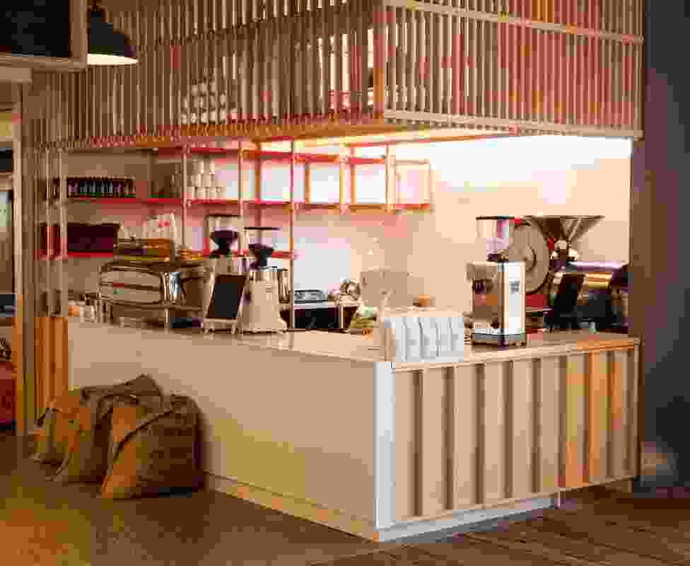 Eighthirty Mini Coffee Roastery by Glamuzina Paterson Architects.