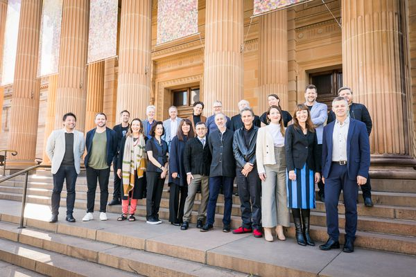 Speakers at The Architecture Symposium, Sydney.