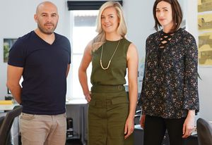 Jade Vidal, Anna Dutton and Chema Bould of Bower Architecture.