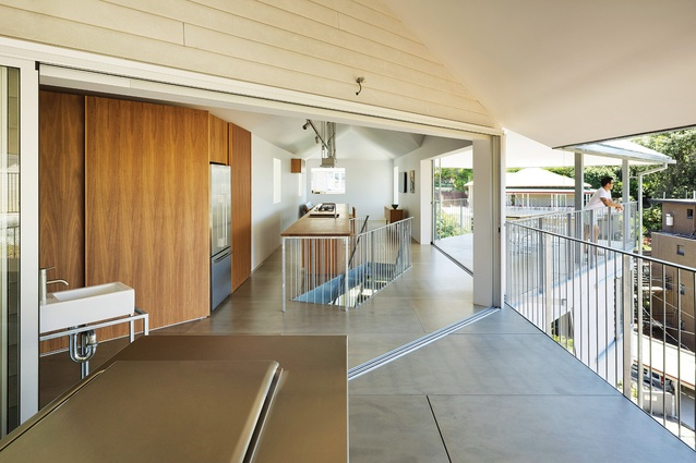 House in Hamilton by phorm architecture and design with Tato Architects.