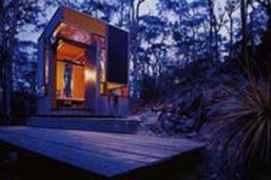 Zigzag cabin