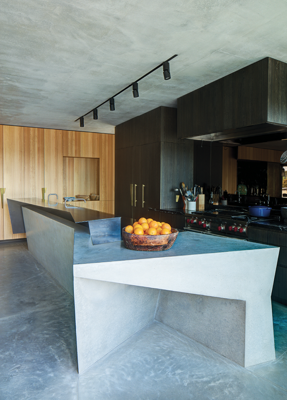 A collaboration with interior designer Pascale Gomes-McNabb led to bespoke details.
