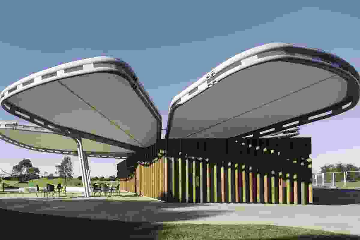 Blaxland Riverside Playground Kiosk (2012), Newington, NSW.