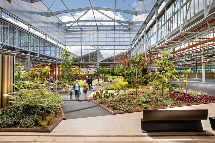 Tonsley Innovation District by Oxigen, Woods Bagot, Tridente Architects, KBR, WSP and Renewal SA, winner of the 2017 Delivered Outcome – Large Scale category.