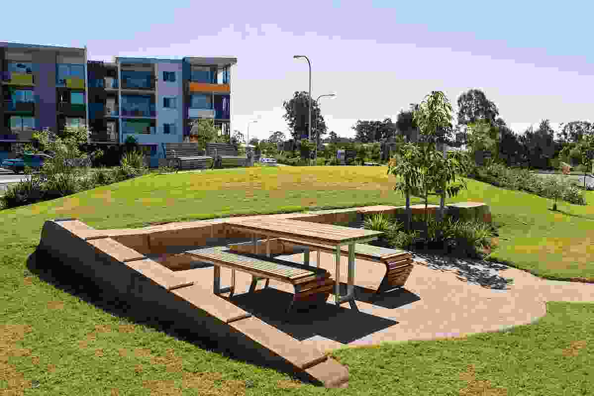Fitzgibbon Chase's Chibur park features barbecue and picnic areas for residents and visitors.