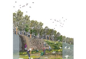 National prize winner: Revival: Drug Rehabilitation Landscape by Oshadi Jayasinghe of Deakin University