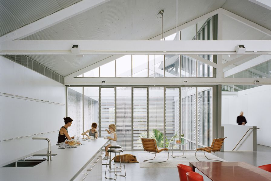 Redfern Warehouse by Ian Moore Architects.