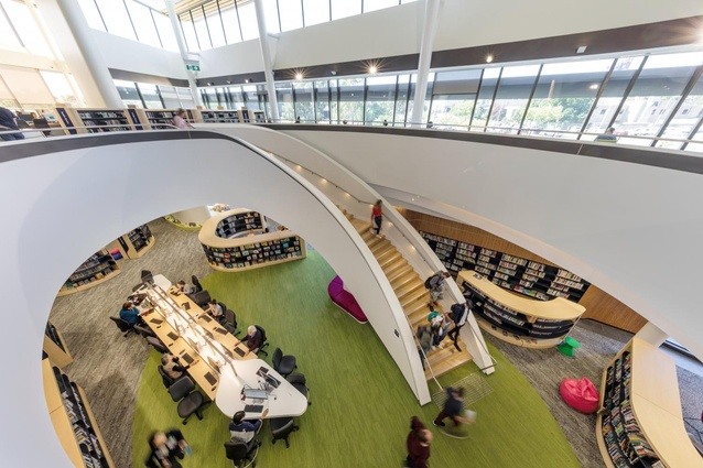 Bunjil Place Library by FJMT.