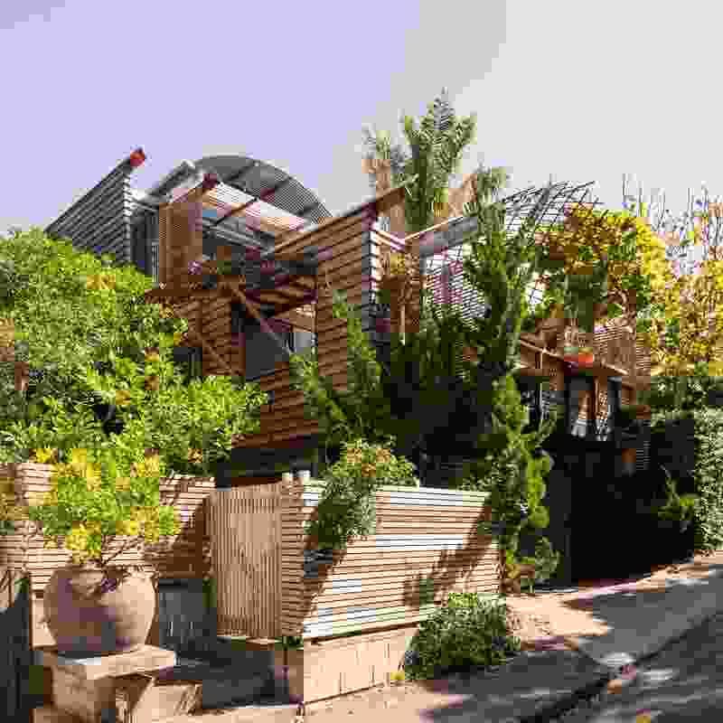 Heke St by Mitchell Stout Dodd Architects.