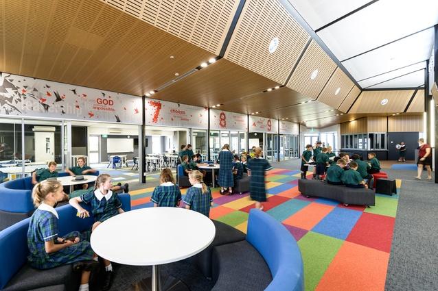 St Luke's Anglican School, Middle School Precinct by McLellan Bush Architects.