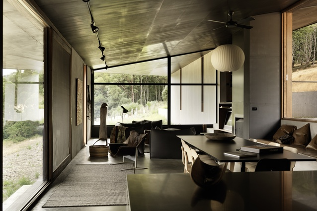 House at Hanging Rock (Vic) by Kerstin Thompson Architects.