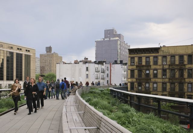 New York City: Crowd-funded public realm