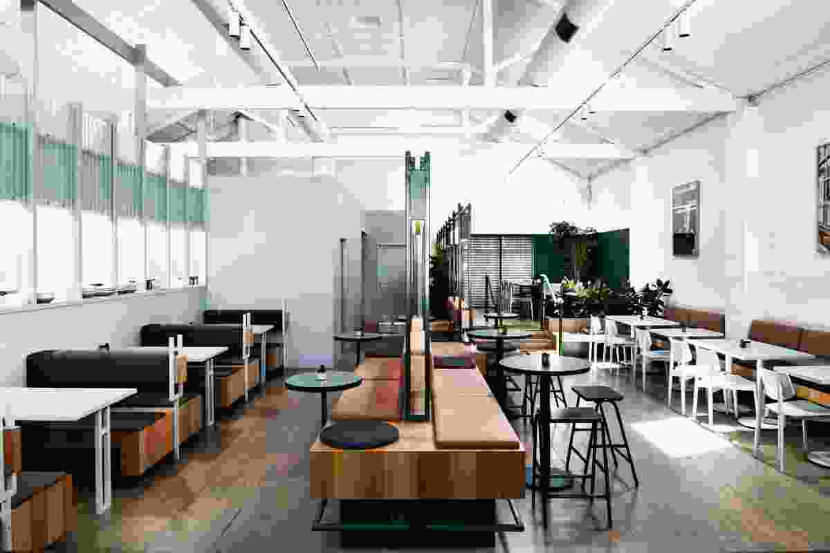 Lobbs Cafe by Techne Architecture and Interior Design.