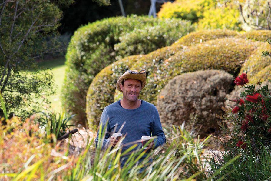 Landscape Architect Anton James of JMD Design.