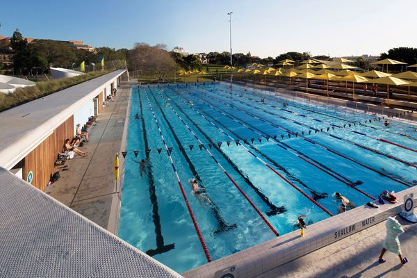 Prince Alfred Park + Pool Upgrade by City of Sydney and Neeson Murcutt Architects.