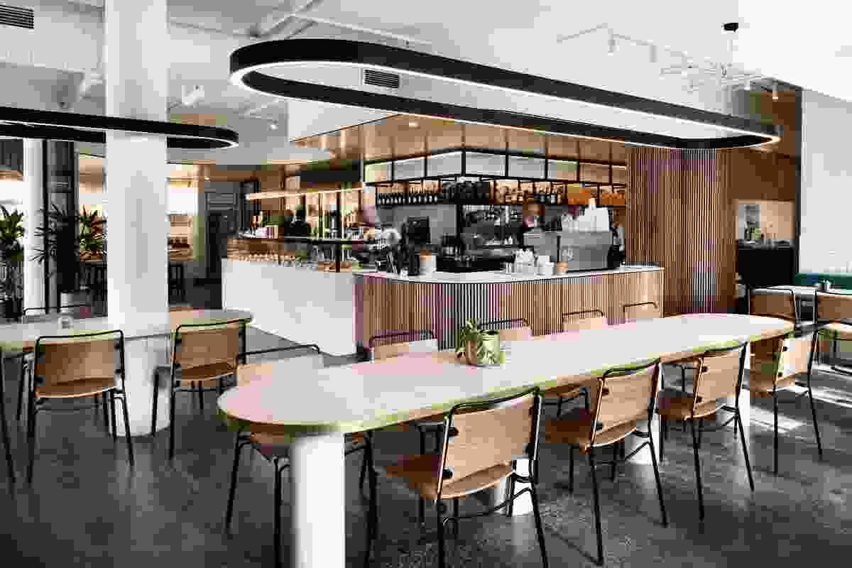 Pierrick Boyer Cafe Patisserie by ZWEI Interiors Architecture.