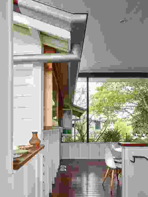 Embracing the tropical climate, the new deck offers a sheltered outdoor living area all year round.