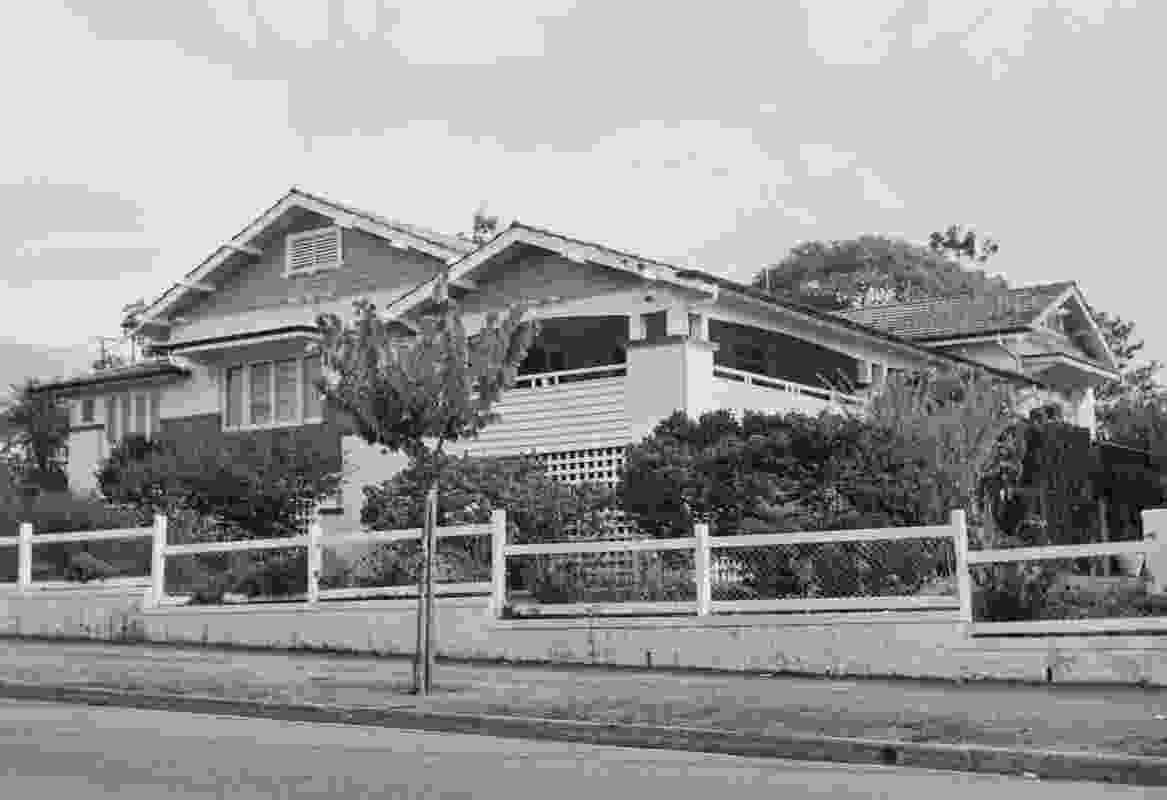 Petersham house, in 1920-21 for Henry Clarke and designed by the architect Eric P. Trewern.