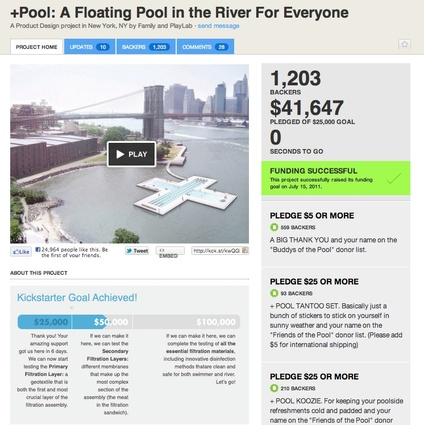 The +Pool on Kickstarter.