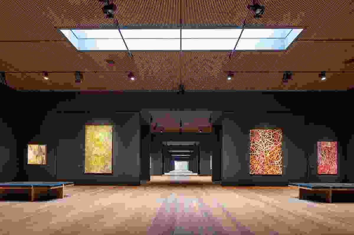 Garangula Gallery (NSW) by Fender Katsalidis Mirams Architects.