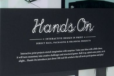 Hands On: Interactive design in print