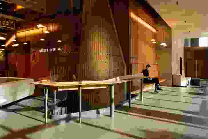 The atrium of the Ian Potter Southbank Centre by John Wardle Architects.
