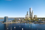 Woods Bagot's conceptual vision for mega mixed-use Perth precinct