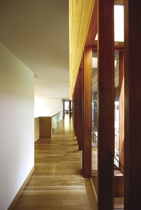 Interiors are kept uncluttered so that priority can be given to the views.