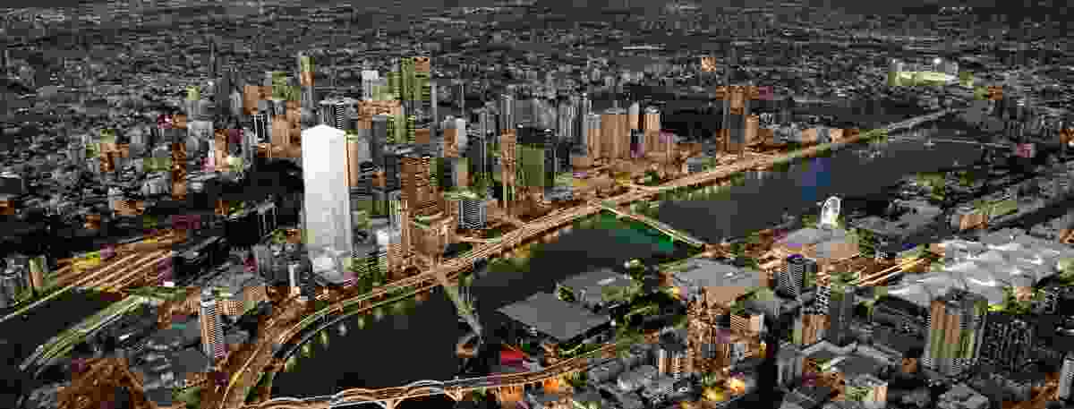 The proposed tower will be located at 205 North Quay in Brisbane.