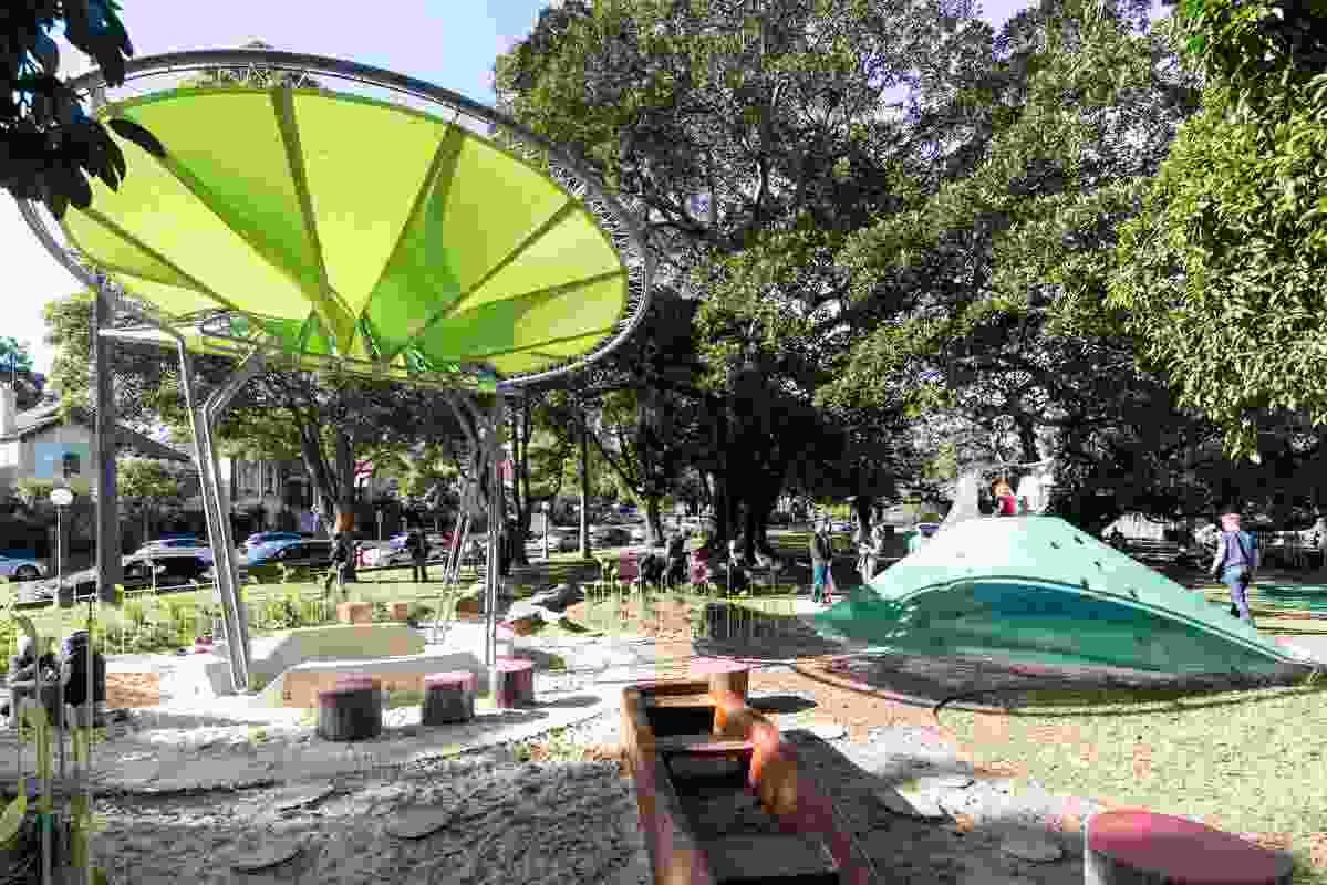 Jubilee Playground by Sue Barnsley Design received the 2014 Medal for Landscape Architecture from the Australian Institute of Landscape Architect, NSW chapter.