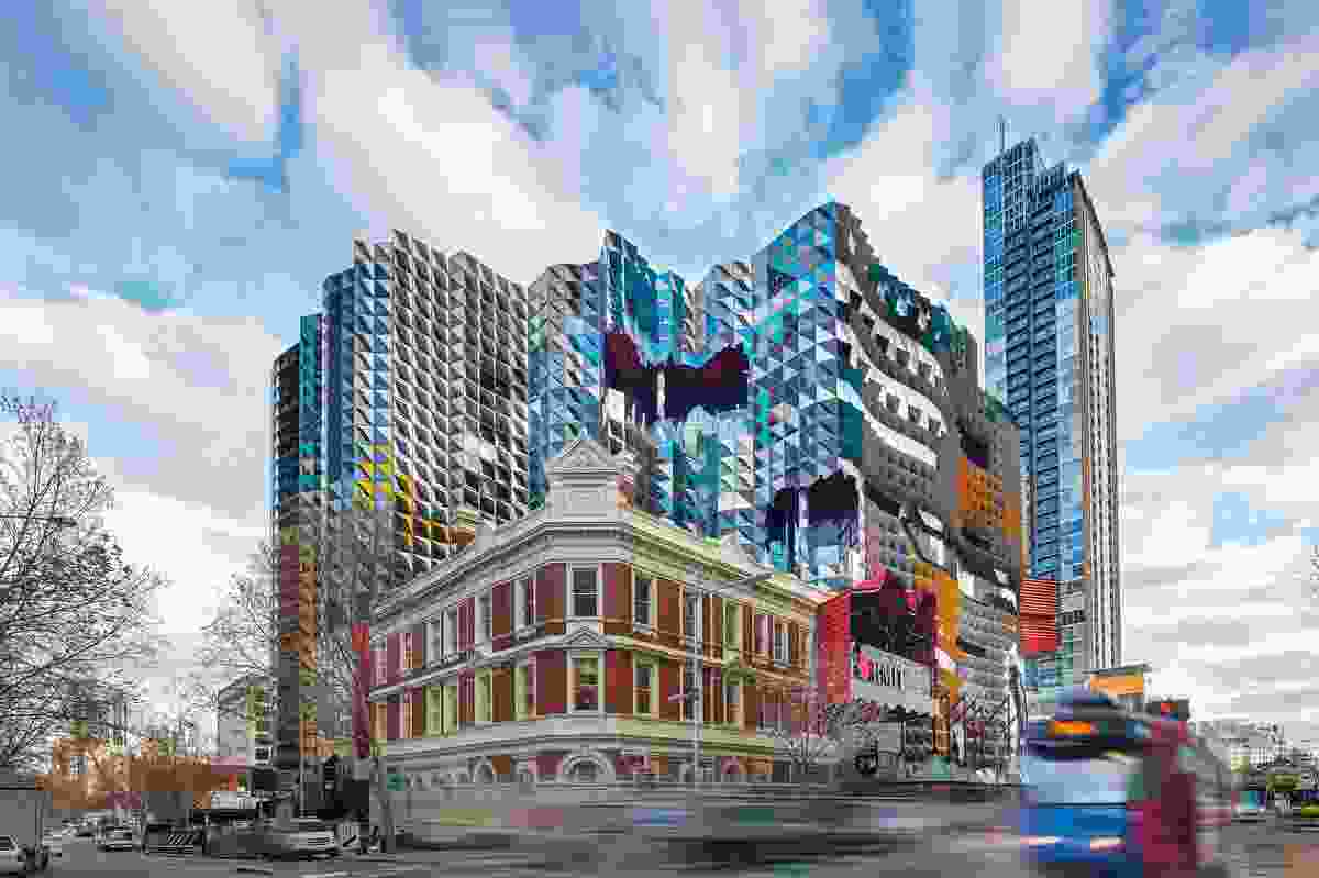 Swanston Academic Building, RMIT University by Lyons.
