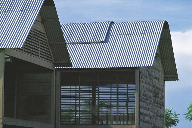 Glenn Murcutt's Marie Short House, Kempsey, 1975.