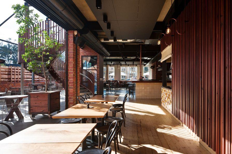 American Hotel Echuca by Beatrix Rowe Interior Design & Brandrick Architects.