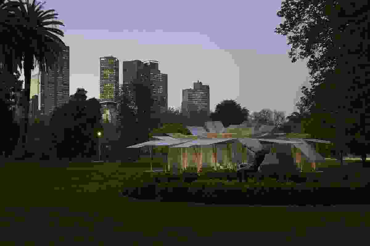 The MPavilion by Sean Godsell.