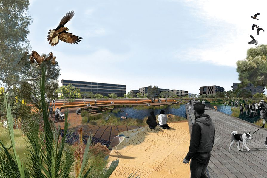 The Living Knowledge Stream Design Guidance for Curtin University by Syrinx Environmental.
