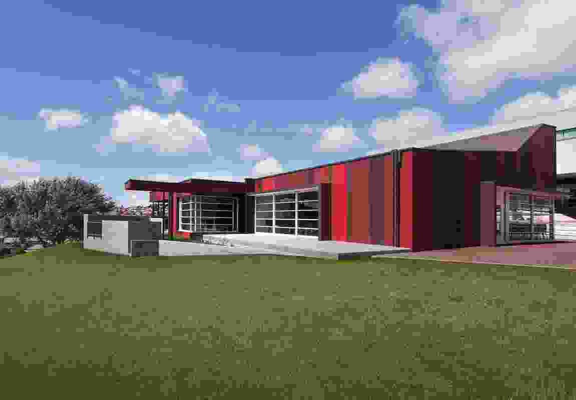 Ogilvie High School Student Learning Centre by Liminal Architecture (formerly Forward Brianese & Partners).