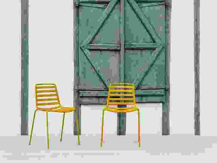 Street chair by Enea.