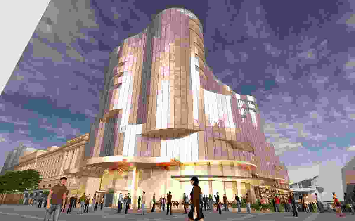 The Adelaide Casino expansion.