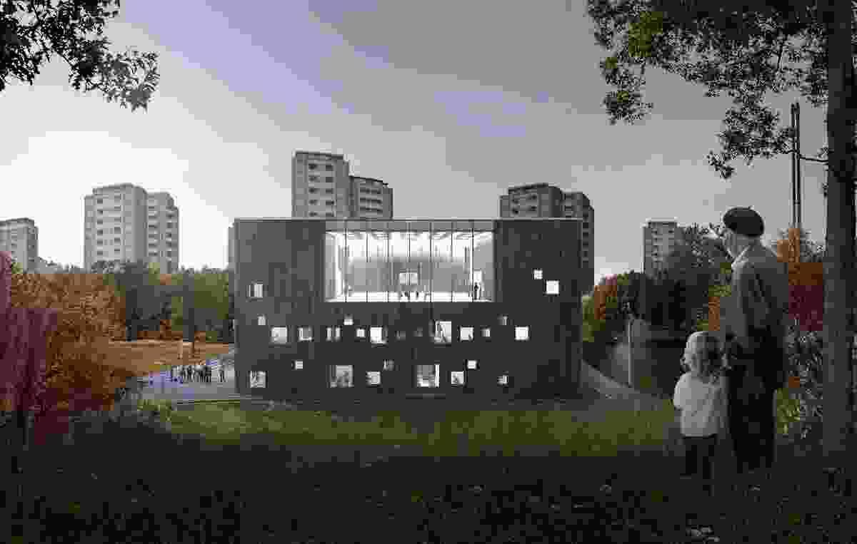 Bellahøj School by Kant Arkitekter.