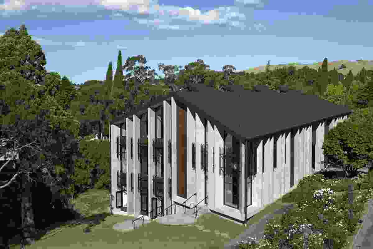 Education category finalist: Iona College Information Resource Centre, Havelock North by Stevens Lawson Architects.