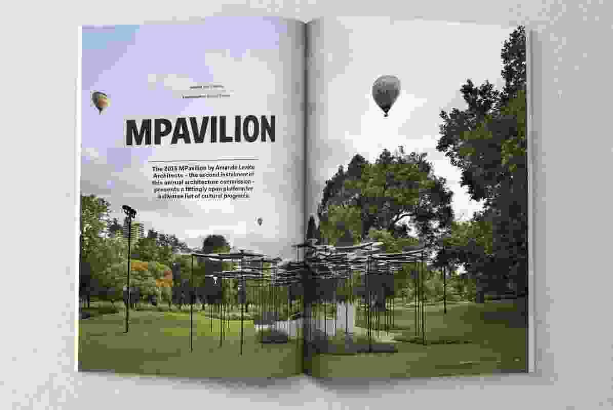 MPavilion by Amanda Levete Architects.